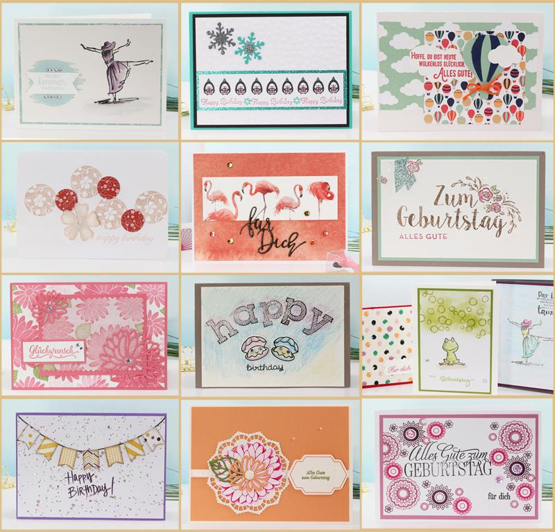 Geburtstagskarten-Geburtstagspost-mit Stampin Up 2017