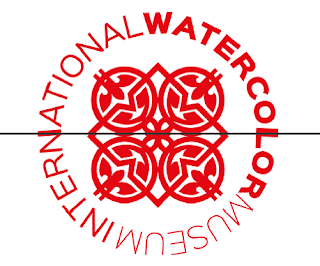 "Logo ""International Watercolor Museum"""