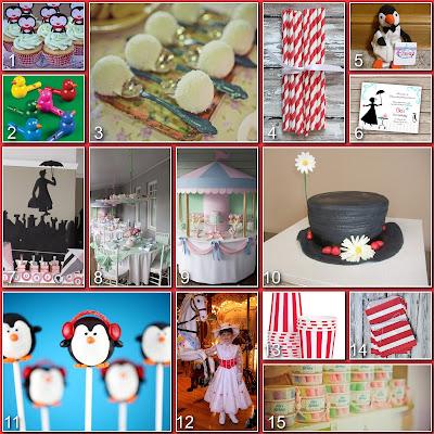 Disney Donna Kay Disney Party Board Mary Poppins Party