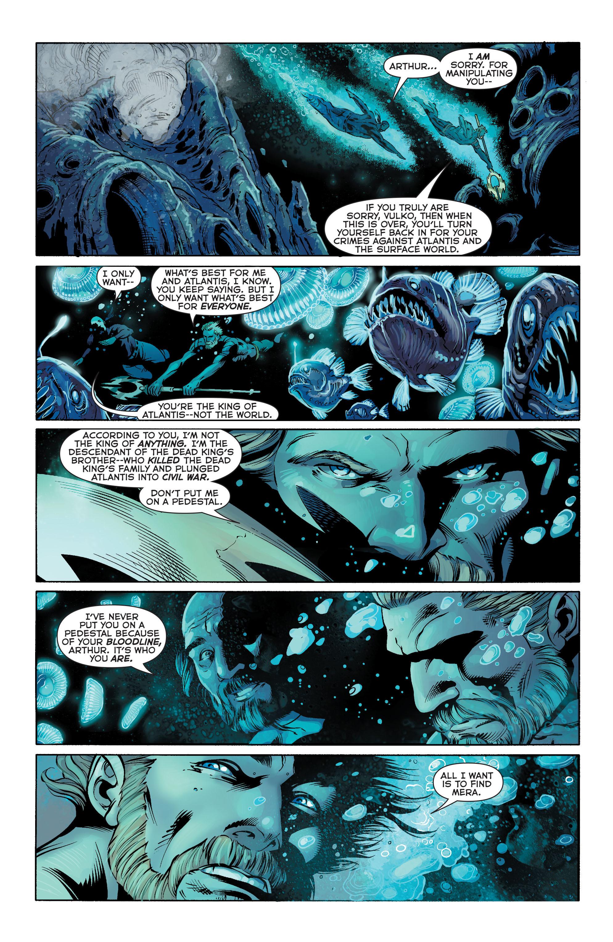 Read online Aquaman (2011) comic -  Issue #25 - 4