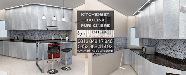 kitchen set puri cinere, kitchen set cinere, kitchen set jakarta, kitchen set depok