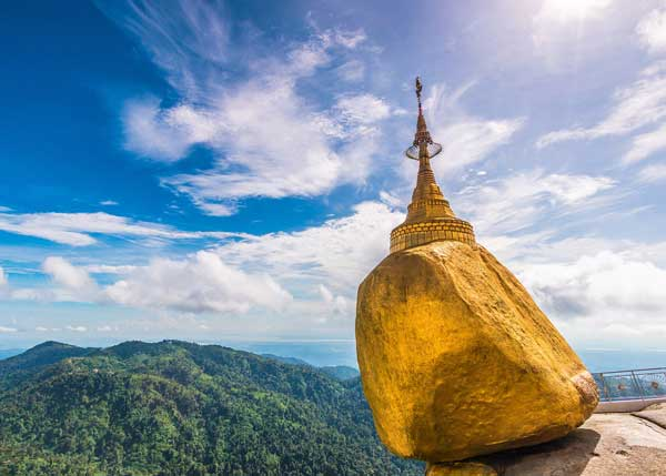 Image Golden -Rock-Myanmar