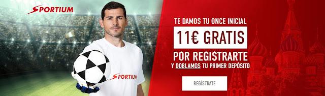 Apuestas mundial de futbol 2018 Sportium