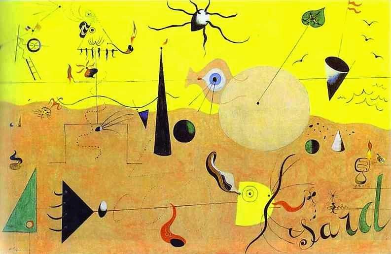 Paisagem Catalão - Miró, Joan e suas principais pinturas