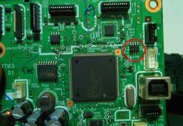 Board Canon Pixma MP287