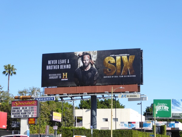 Six series premiere billboard
