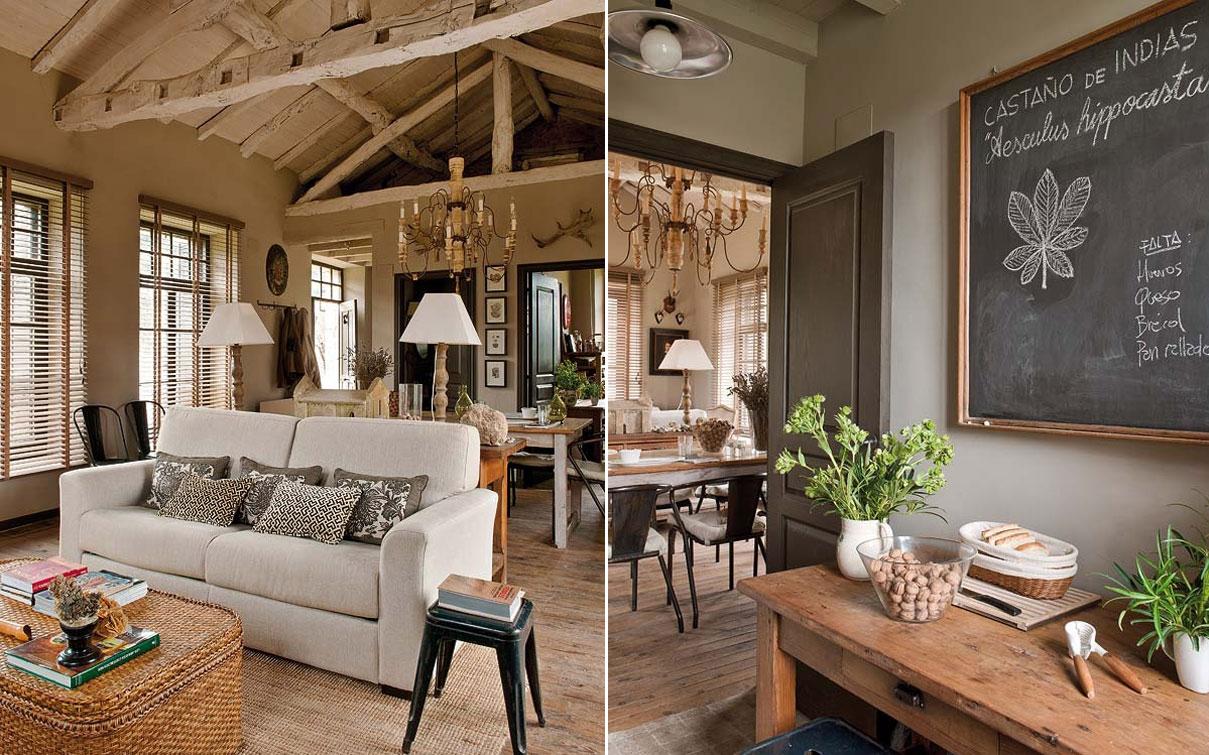 A boutique das ideias estilo r stico for Ambiente rustico