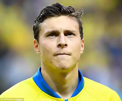 Manchester United's first summer signing is £30.7million defender Victor Lindelof