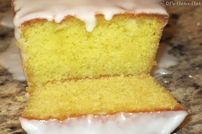 Lemon cake adapted from Ina Garten's recipe.