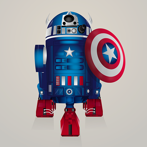 10-Captain-America-Steve-Berrington-Batman-v-Superman-and-their-Superhero-R2-D2-Friends-www-designstack-co