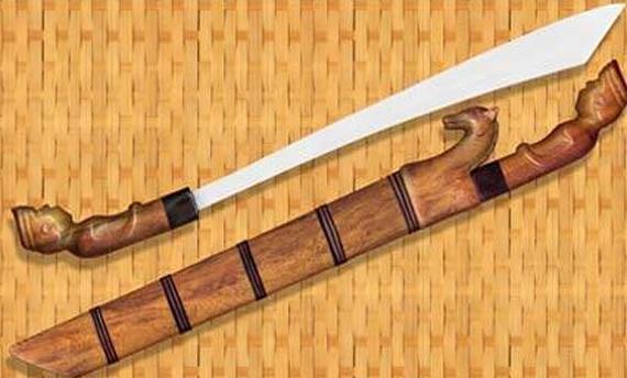 4 Senjata Tradisional Lampung Beserta Gambarnya Lengkap