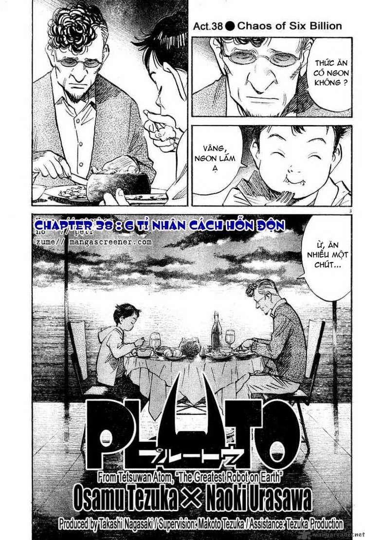 Pluto chapter 38 trang 3