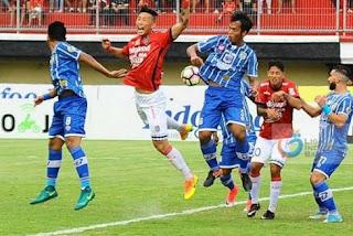 Persiba Balikpapan vs Bali United 3-2 Liga 1 Senin 16 Oktober 2017.