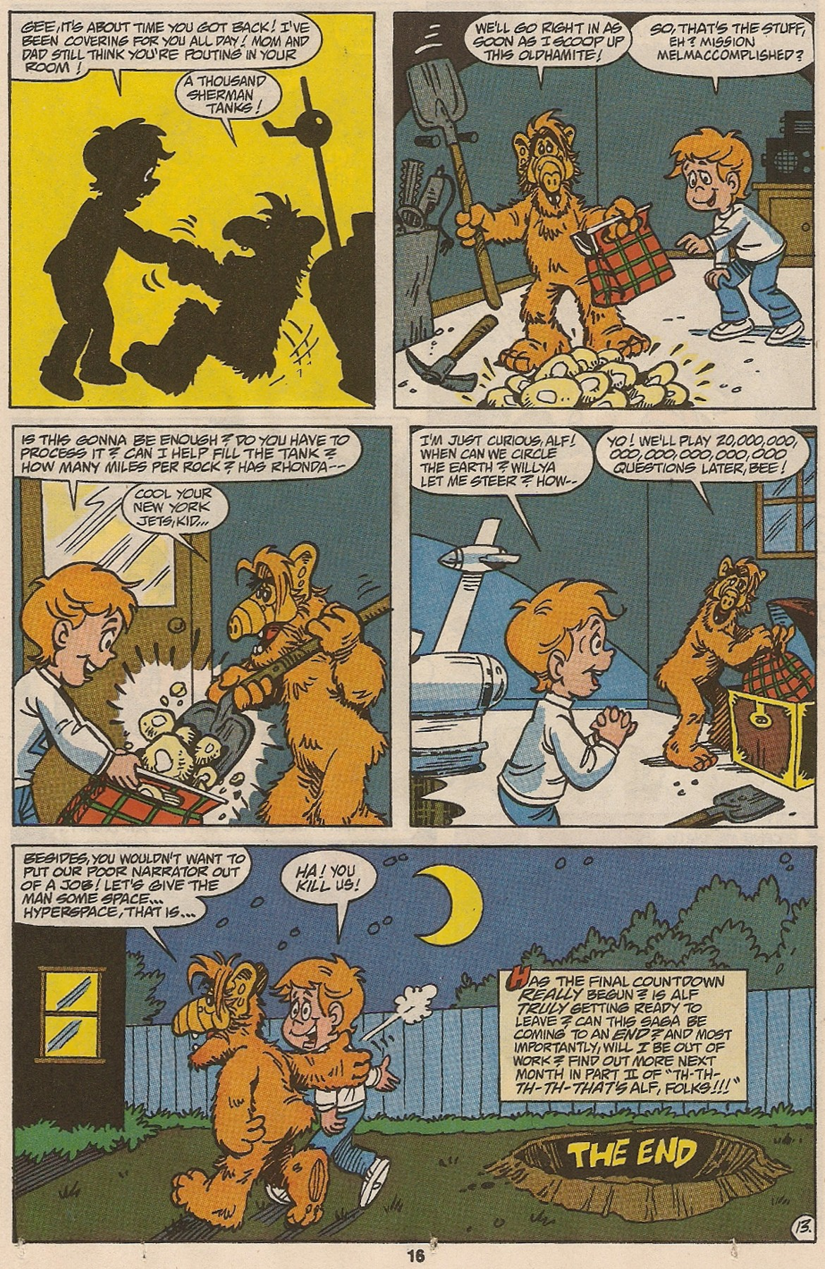 Read online ALF comic -  Issue #47 - 18