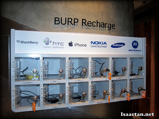 Burp! Mobile Recharge Station