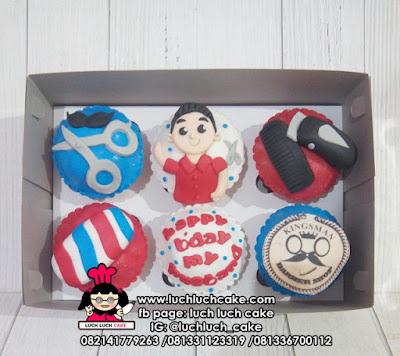 Cupcake Barber Shop Untuk Suami
