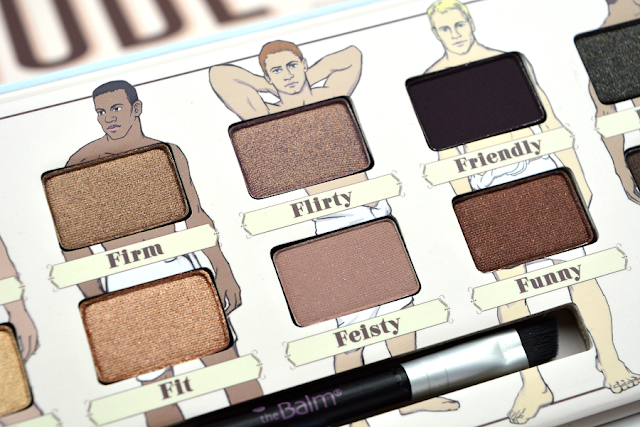 The Balm Nude Dude Volume 2 Lidschattenpalette | Close-Up