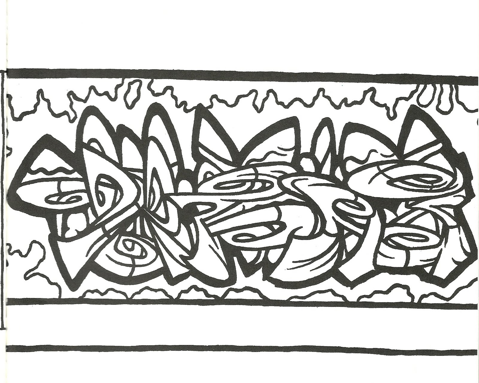 coloring pages urban art - photo#2