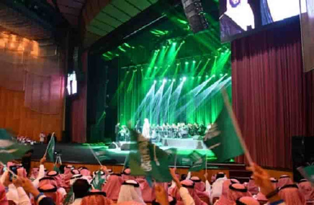 SAUDI ARABIA PERMITS LIVE MUSIC SHOWS IN RESTAURANTS AND CAFES