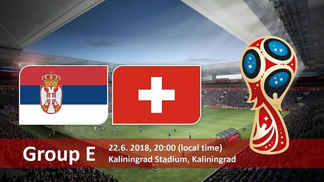 اهداف مباراة صربيا وسويسرا  Serbia vs Switzerland في مونديال 2018 في روسيا