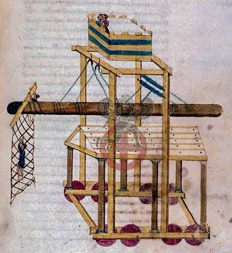 Πολεμικές Μηχανές Της Βυζαντινής Αυτοκρατορίας