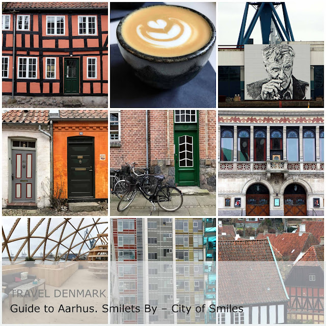 Travel Denmark. Guide to Aarhus. Smilets By – City of Smiles