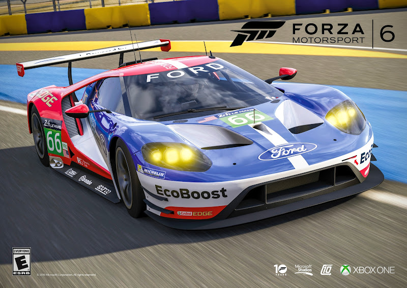 The Ford Gt London Paris And Now On Xbox One In Forza Motorsport