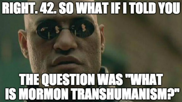 "Free Accepted Manuscript of ""What Is Mormon Transhumanism?"""