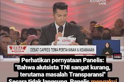 Surya Prabowo Jelaskan Alasan Prabowo Tegur Pendukung 01 Yang Tertawa Sinis Saat Debat Capres