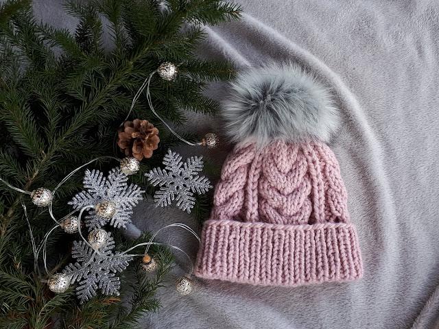 Świąteczna czapka.