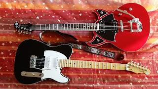 Guitares Reverend Spacehawk et Eastsider