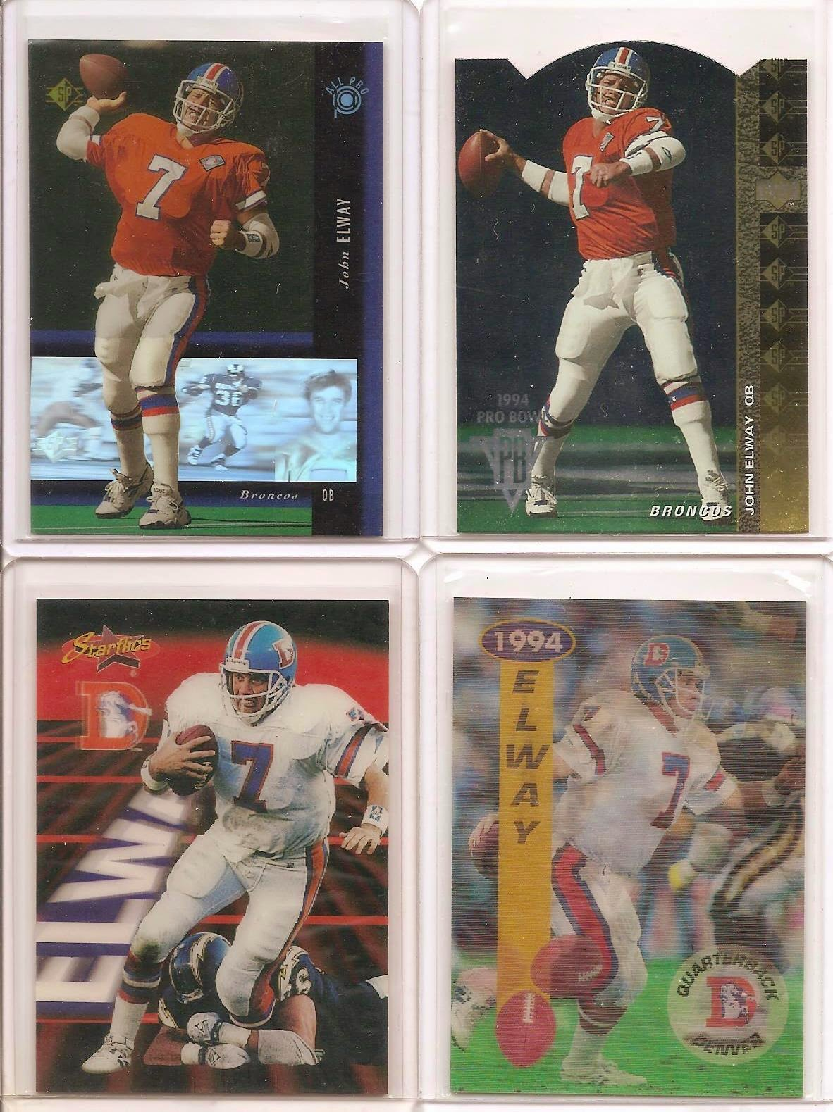 Trading John Elway 1994 Last Of The Mohicans
