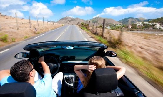 alugar um carro na Califórnia