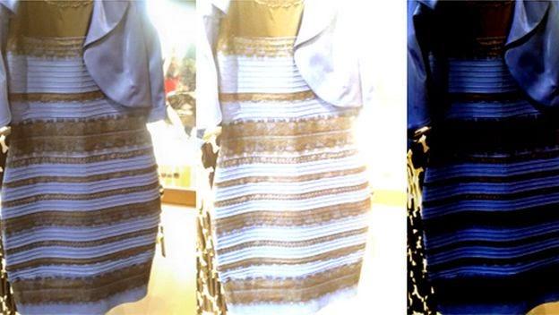Curiosidades Variadas De Que Color Ves Este Vestido Por