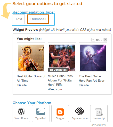 How to add Related posts widget to website and blog