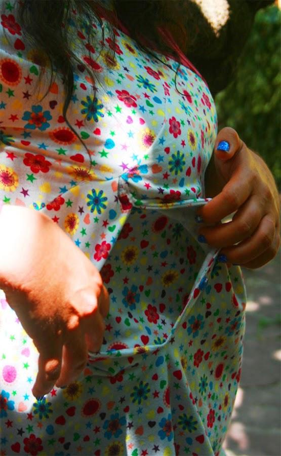 vestido lactancia hand made
