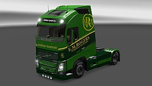E.M.Rogers skin for Volvo 2013