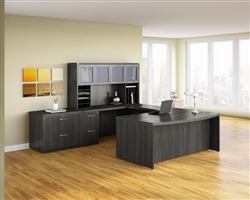 Mayline Aberdeen Office Furniture Set