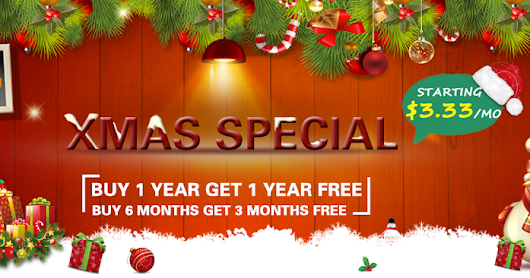 FlyVPN's Xmas & New Year Big Deal - Save up to 50%