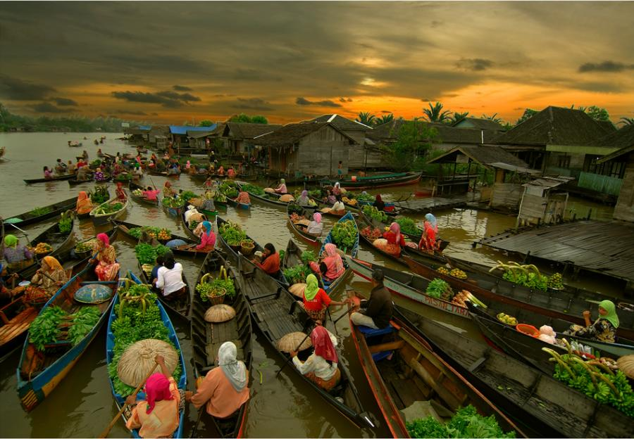 Gambar Pemandangan Alam Indonesia  Gambar Pemandangan