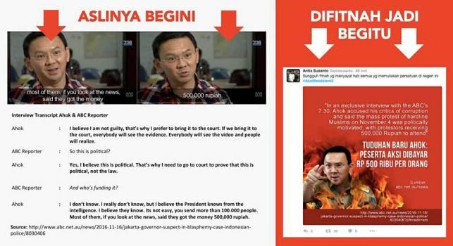 Silahkan Share Inilah yang Sebenarnya dari Pernyatan Ahok tentang Demo Bayaran Rp.500.000