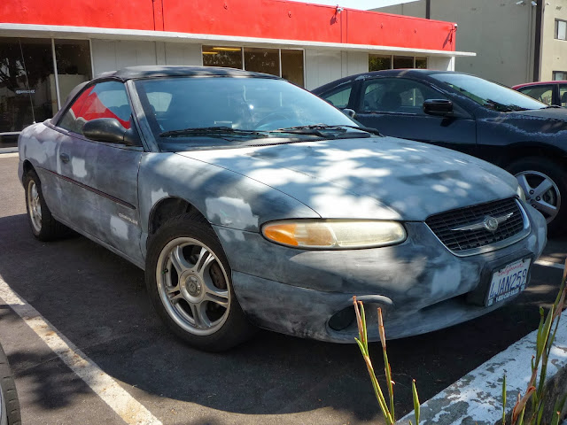 2000 Chrysler Sebring before Paint Job at Almost Everything Auto Body