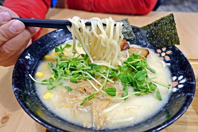 原粹蔬食作味噌天婦羅拉麵