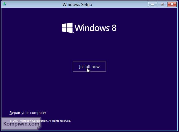 Cara Instal dan Instal Ulang Windows 10, 7, 8, 8.1 lewat Flashdisk/DVD + Video Tutorial 3