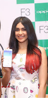 Bollywood Actress Adah Sharma Pos in White Printed Short Dress at OPPO F3 Plus Selfie Expert Mobile Launch .COM 0042.jpg