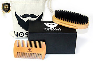 HOSALA - BEARD BRUSH COMB SET