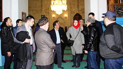 Dubes RI Jadi Imam Salat Pejabat Tinggi Dagestan di Masjid Tertua Rusia