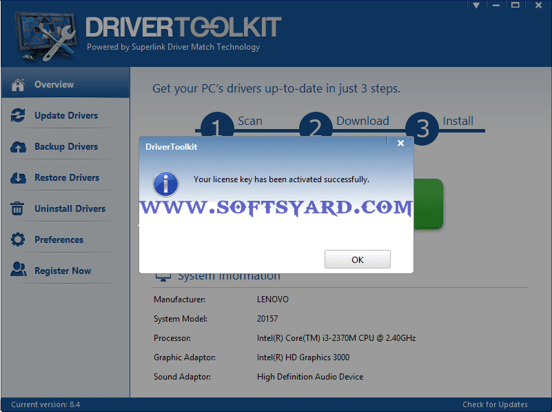 driver toolkit 8.4 working license key free download