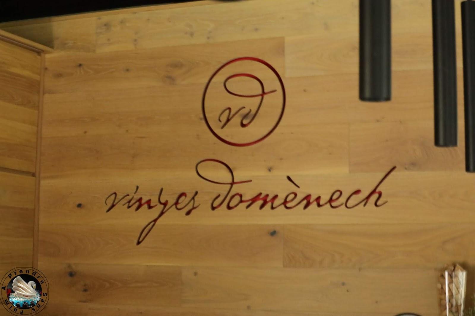 Déjeuner chez Vinyes Domènech - Capçanes
