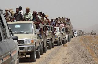 قوات هادي تستجد بالتحالف لدحر القاعده من عدن